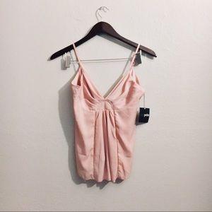 JUST IN • asos open back dusty rose dress tank •
